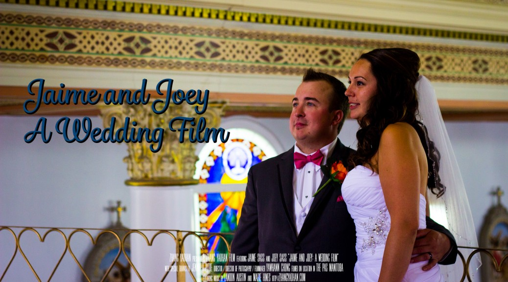 Jaime and Joey - A Wedding Film Banner