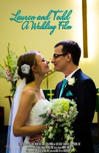 Lauren and Todd - A Wedding Film Poster
