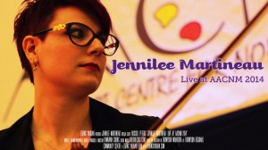 Jennilee Martineau - Live at AACNM 2014 Banner