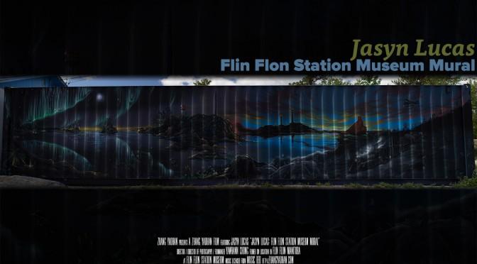 Jasyn Lucas - Flin Flon Station Museum Mural Banner